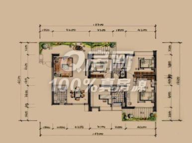 四間套房平面設計圖圖片